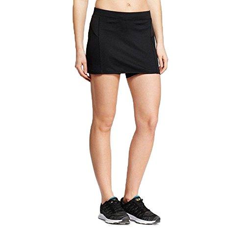 Champion C9 Women Running Skort Duo Dry Inner Short Skirt Black S