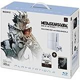 PLAYSTATION 3(40GB) メタルギア ソリッド 4  ガンズ・オブ・ザ・パトリオット WELCOME BOX with DUALSHOCK 3 セラミック・ホワイト【メーカー生産終了】
