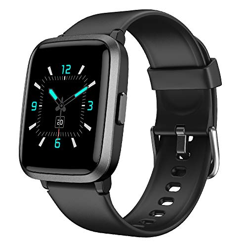 YAMAY Smart Watch,Fitness Trackers With Heart Rate Monitor/Pulse Oximeter/Blood Oxygen Monitor/Blood Pressure Monitor…