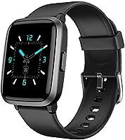 YAMAY Smartwatch,Fitness Armbanduhr mit Blutdruck Messgeräte,Pulsoximeter,Pulsuhren Fitness Uhr Wasserdicht IP68 Fitness...