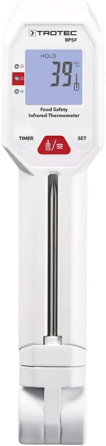 Trotec Lebensmittel Thermometer Bp5 F Haushaltsthermometer Einstichthermometer Grillthermometer Baumarkt
