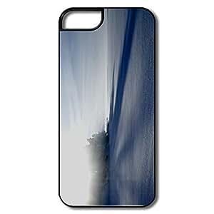 diy zhengUnique Interior Scratch Protection Frozen Lake Winter iphone 5c// Case For Friend