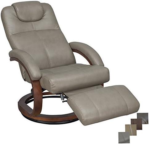 RecPro Charles 28 RV Euro Chair Recliner Modern Design RV Furniture 1, Putty