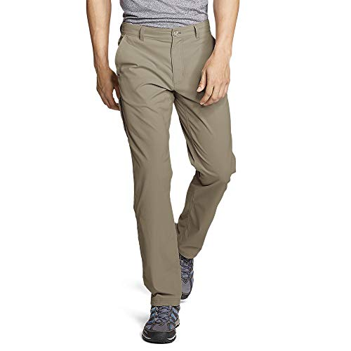Eddie Bauer Men's Horizon Guide Chino Pants, Lt Khaki Regular 34/34 (Eddie Bauer Pants)