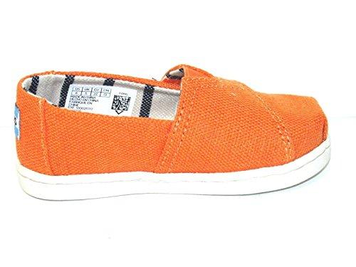 Orange 10009918 Kids' Russet K Alpargata Heritage Canvas TOMS vX8wq11