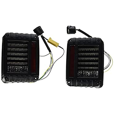 J.W. Speaker 0347531 Model 279 J 12-24V DOT LED Jeep Tail Light Kit 2 Light Kit