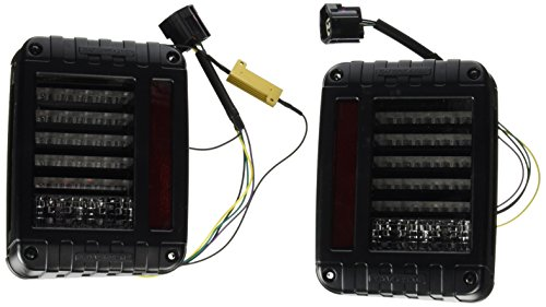 J.W. Speaker 0347531 Model 279 J 12-24V DOT LED Jeep Tail Light Kit - 2 Light Kit