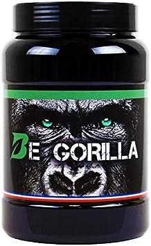 Be Gorilla/Proteína/4 proteínas vegetales/Vegan/gluten free/Lactose Free/fabricado en Francia/Benn