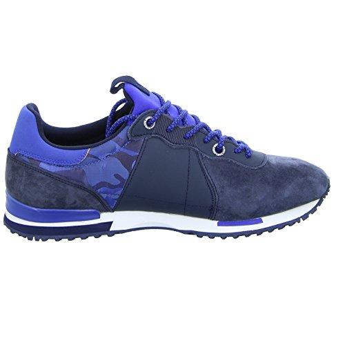 Herren Blau Mix Jeans Pepe Marine Sneaker Racer Tinker London ESw6404qR