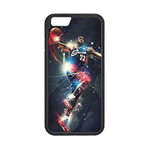 Onshop Custom Cool Lebron James Phone Case Laser Technology for iPhone 6 4.7 Inch by mcsharks