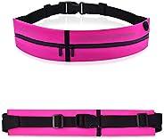 MATEPROX Slim Running Belt Waist Pack Bag,Ultra Light Bounce Free Waist Pouch,Water Resistant Belt Fanny Pack
