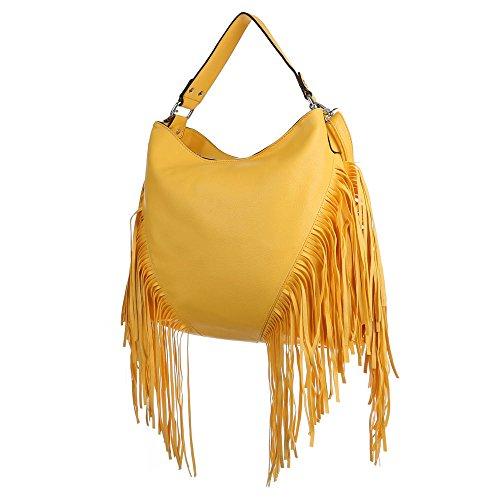 Ital-DesignSchultertasche bei Ital-Design - Bolso de hombro Mujer Amarillo - amarillo