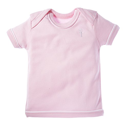 little-pharo-100-extra-long-staple-egyptian-cotton-short-sleeved-shirt-pink-size-6-12-months