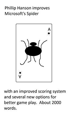 Phillip Hanson improves Microsoft's Spider (Ms Spider)