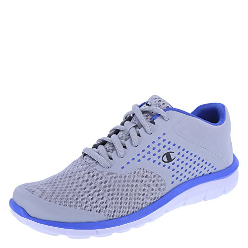 Champion Men's Grey Blue Men's Gusto Cross Trainer 14 Regular