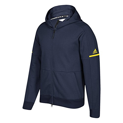 adidas Game Built Squad ID Full Zip Hoodie Collegiate Navy-yellow best wholesale sale online hsQtaWqI5