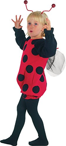 Toddler Kids Fancy Animal Book Day Dress Party Costume Ladybird Outfit (Toddler Ladybird Costume)