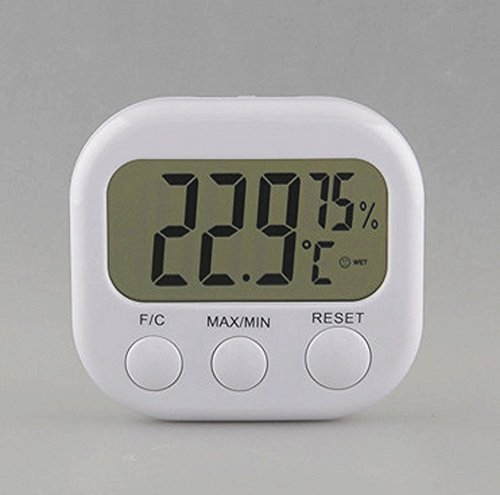 GGS LCD Digital Indoor Outdoor Hygrometer Thermometer Temper