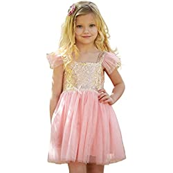 Birthday Dress for Little Girls Princess Ballerina Party
