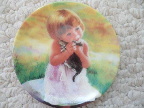 Donald Zolan Mini Plate ~ My Kitty ~ 1994