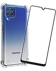 Kit Capa Anti Impacto Compatível com Samsung Galaxy M62 + Película 5D Cerâmica