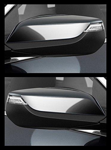 MaxMate Fit 2016 Chevrolet Malibu Chrome Top Half Mirror Cover