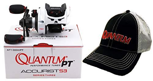 Quantum PT ACCURIST S3 AT100HPT 7.0:1 Right Hand BAITCAST Reel + HAT