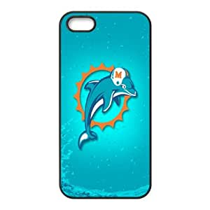 Miami Dolphins iPhone 4 4s Cell Phone Case Black 218y3-166803