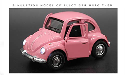 Diecasts & Toy Vehicles - Alloy Retro Vintage Antique Car Wecker VW Volkswagen Beetle Car Diecasts Vehicles Model Toys Pullback Acousto-Optic Toys - by TINIX - 1 PCs from TINIX