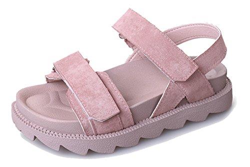痛み儀式高揚したFemaroly女性と女子学生のための春夏用サンダルフラットボトム靴