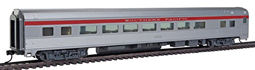 85' Budd Large-Window Coach - Ready to Run -- Southern Pacific (silver, red)
