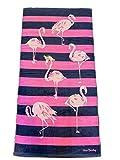 Vera Bradley Flamingo Fiesta Beach Towel 33'' x 66''