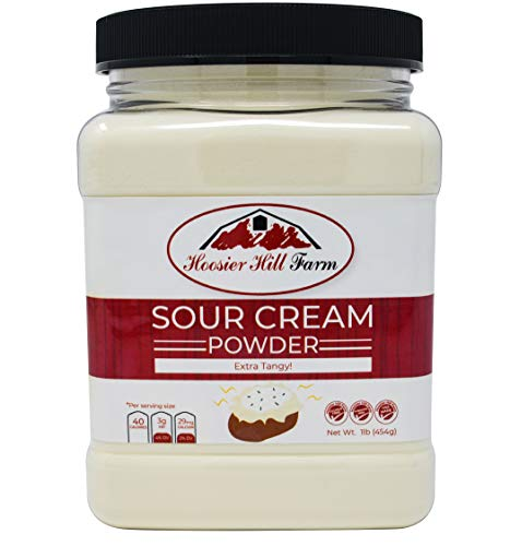 EXTRA Tangy Sour Cream Powder, Hormone Free, Made in USA, 1 lb