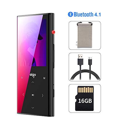 MP3 Player,16GB Bluetooth Digital Player with FM