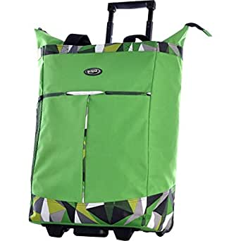 Olympia Rolling Shopper Tote (Green)