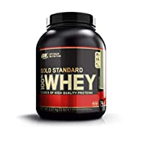 Optimum Nutrition Gold Standard Whey Protein Powder with Glutamine and Amino Acids. Protein Shake by ON - Chocolate Mint, 74 Servings, 2.27kg