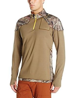 Yukon Gear Men's 1/4 Zip Technical Fleece Jacket