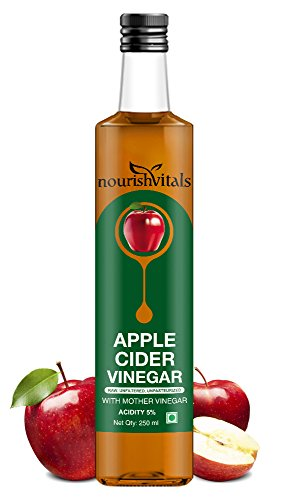 Nourishvitals Apple Cider Vinegar With Mother Vinegar 250Ml