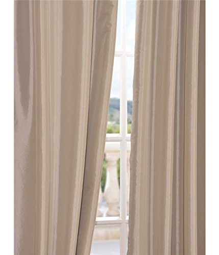 Amazon.com: Half Price Drapes PTCH-BO130907-96 Blackout Faux Silk ...