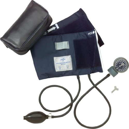 Medline-MDS9410-Nite-Shift-Premier-Aneroid-Blood-Pressure-Unit-Handheld-Latex-Adult-Black
