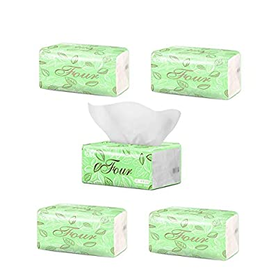 Fold Paper Towels, Paper Towels for Baby, Napkins Paper Dinner Everyday Paper Napkins 4 Ply, Paper Towels Facial Tissue Multi Fold Paper (5 Packs): Health & Personal Care