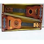 Brunte Kids Musical Acoustic Guitar Kids Toy, Brown