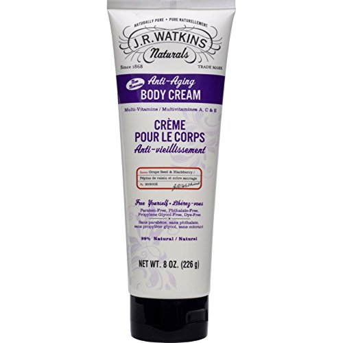 J.r. Watkins Body Cream - Anti Aging - 8 Oz