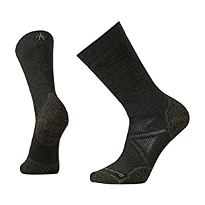Smartwool PhD Outdoor Medium Crew Sock – Medium Cushioned Merino Wool Performance Sock for Men and Women