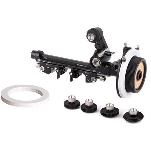 木製カメラuff-1ユニバーサルFollow Focus for 15 mm LW 15 mm Studio、19 mmロッド、ベース   B078WBVQ71