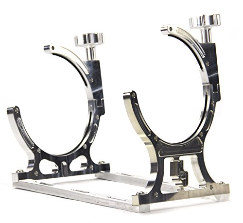 Billet Bottle Brackets - Nitrous Outlet Single Billet 10lb/15lb Nitrous Bottle Bracket