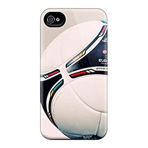 New Arrival Uefa Euro 2012 Match Ball Case Cover/ 4/4s Iphone Case by runtopwell