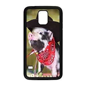 Brand New Phone Case for SamSung Galaxy S5 I9600 with diy pig