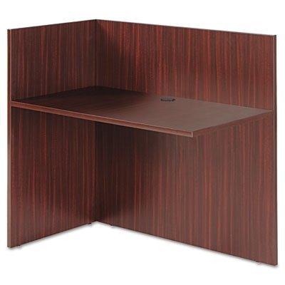 Alera VA324424MY Valencia Reversible Reception Return, 44 x 23-5/8 x 41-1/2-Inch, (Mahogany Traditional Side Table)