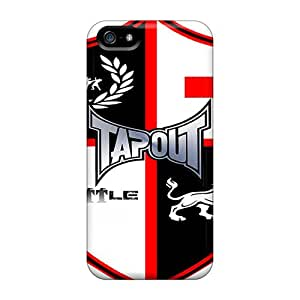 Durable Hard Phone Case For Iphone 5/5s With Customized Vivid Tapout Skin SherriFakhry